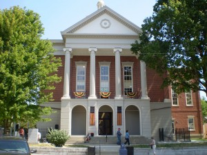 Courthouse rededication