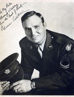 Sgt. Autry of the U.S. Army Air Force
